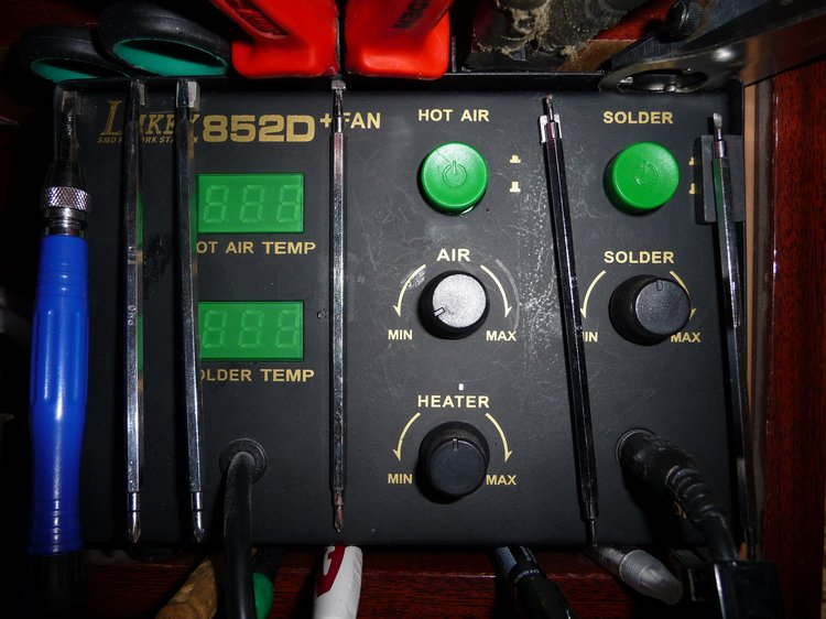 станция Lukey 852D+FAN,
